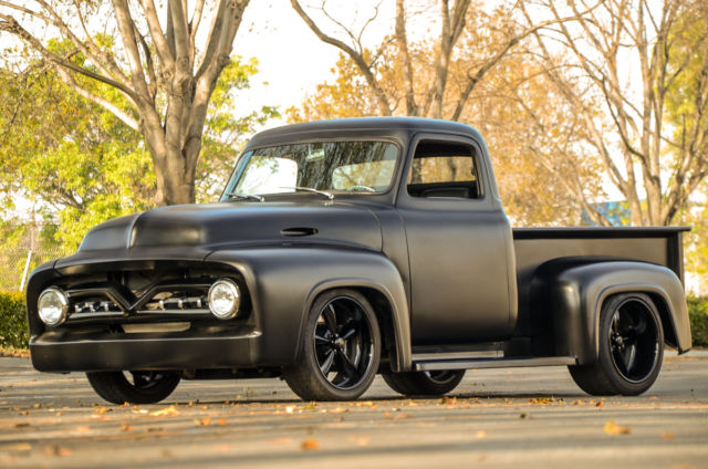 Used Tires San Jose >> 1955 FORD F100 PRO TOURING CUSTOM TRUCK 347 STROKER