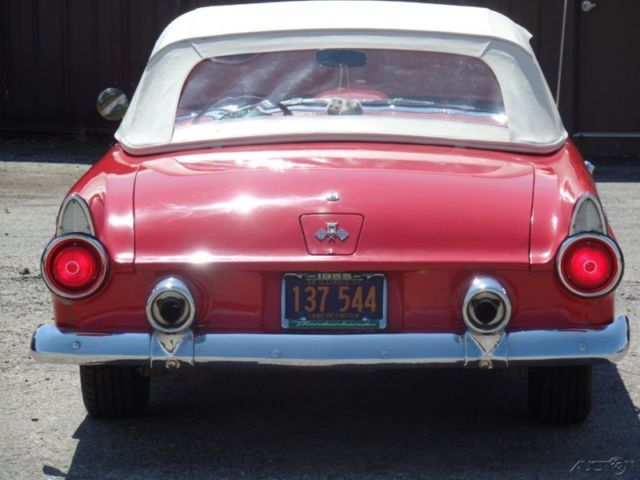 1955 NICE CONDITION T BIRD WITH WORKING AC Ford Thunderbird 1956 1957 Conve