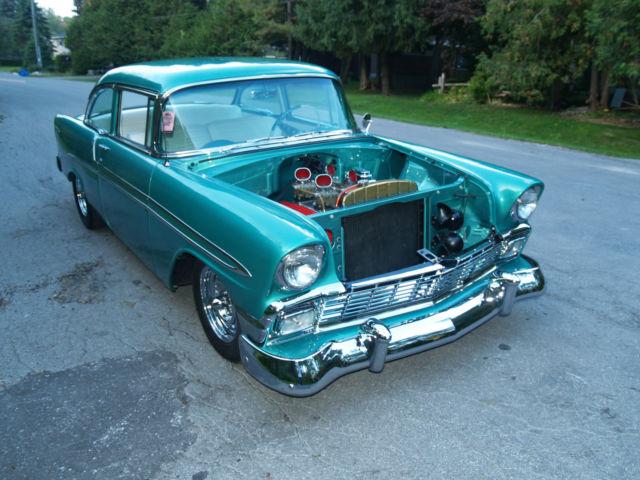 1956 chevrolet belair 2 door sedan hotrod metalflake 1955 for 1956 belair 2 door