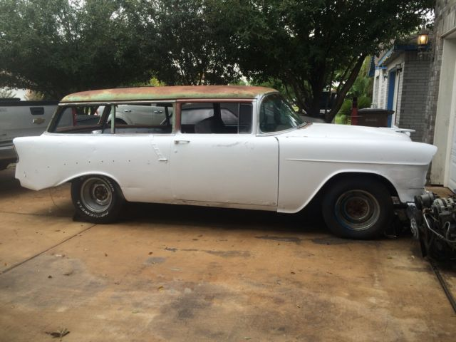 1956 Chevy 2 Door Wagon 1955 Front End