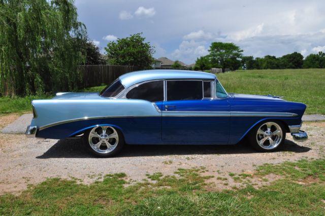 1956 chevy bel air 2 door hard top frame off restoration for 1956 belair 2 door