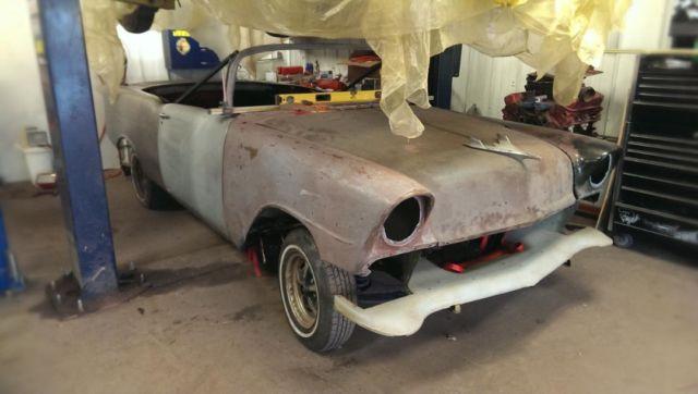1956 chevy belair convertible project for 1955 chevy 4 door to 2 door conversion