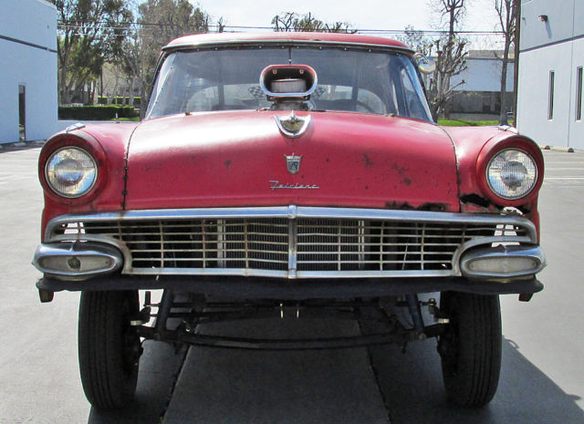 1956 Ford 2-Door Straight Axle GASSER ! Drag Car ! BIG BLOCK