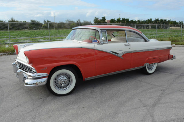 1956 Ford Victoria Fairlane Similar To Crown Customline