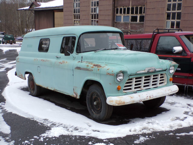 chevy 4x4 manual with 63810 1956 Original Chevy 1 Ton Panel Van Truck Runs Great 2nd Owner 4 Speed 6 Cyl on P 0996b43f80380183 moreover 5 likewise Transfer Case Service additionally 63810 1956 Original Chevy 1 Ton Panel Van Truck Runs Great 2nd Owner 4 Speed 6 Cyl in addition 1985 Chevrolet Military Cucv M1010 Truck Ambulance Tactical 1 14 Ton 4x4 K30.