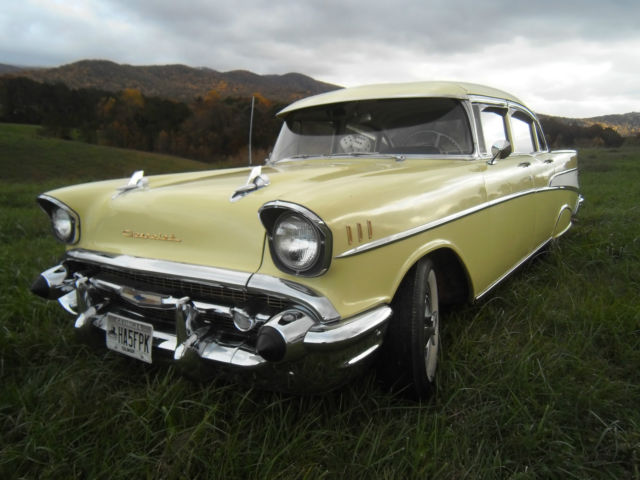 1957 chevrolet bel air 4 door sedan for 1957 chevy 4 door sedan