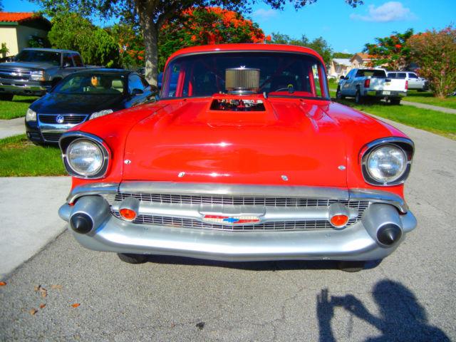1957 Chevrolet Bel Air Hardtop 2 Door Dragracepro Streettubbed
