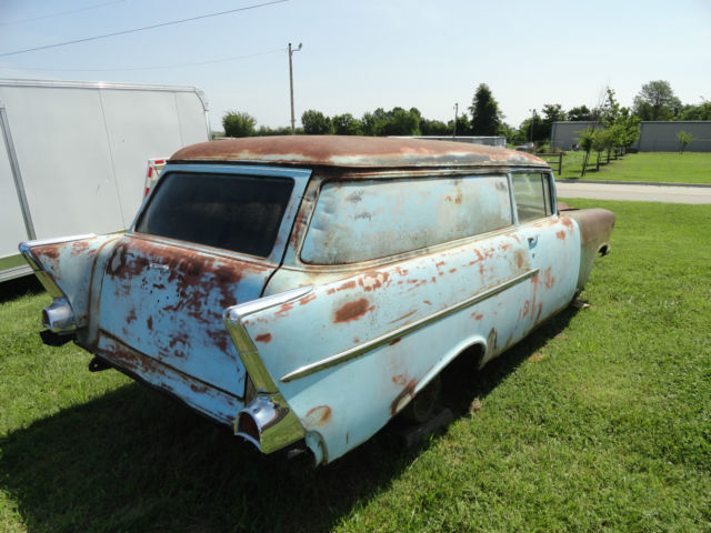 1957 Chevrolet Sedan Delivery Project Vehicle