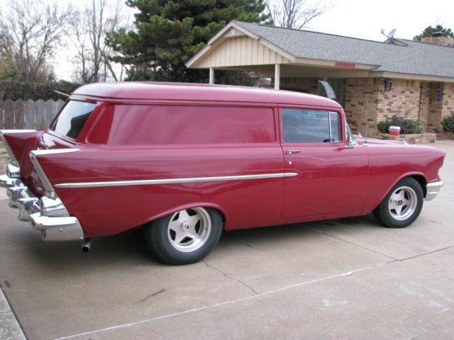 1957 Chevy 2 Door Wagon Sedan Delivery
