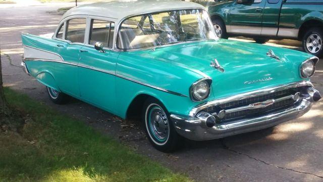 1957 chevy 210 4 door excellent condition 45 000 for 1957 chevy 210 4 door