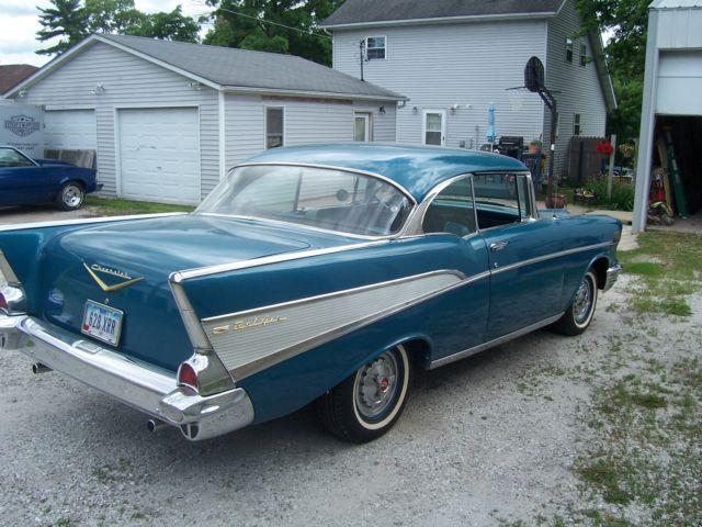 1957 chevy belair 2 door hardtop for 1957 chevy two door hardtop