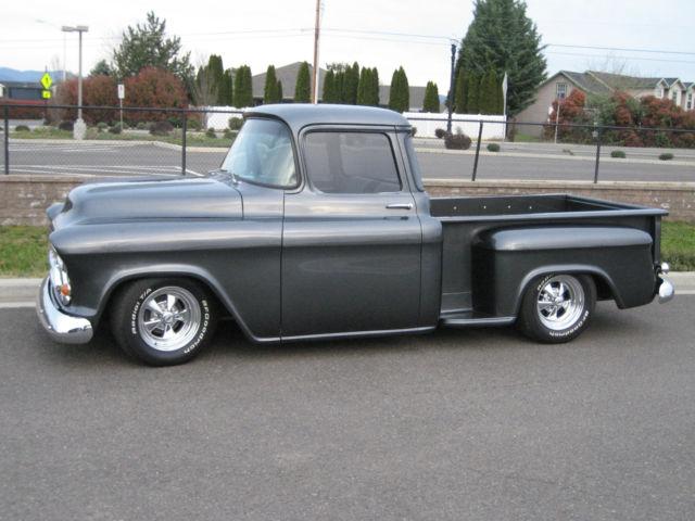 1957 chevy stepside pickup truck no reserve