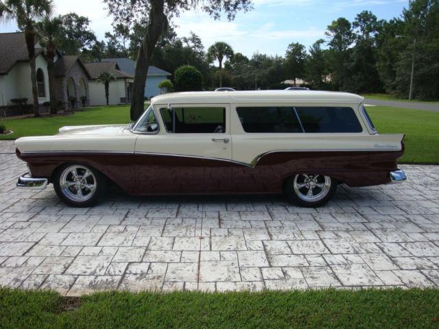 1957 Ford Del Rio Ranch Wagon Very Rare 2 Door Wagon Ford