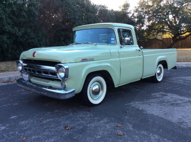 1957 Ford F100 Frame Off Restoration To Showroom Quality