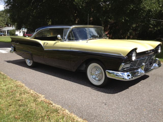 1957 ford fairlane 500 2 door hardtop 292 v8 4 speed sunny for 1957 ford 2 door hardtop