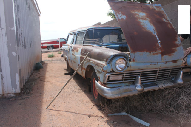 1957 ford ranch wagon 2 door for 1957 ford 2 door ranch wagon