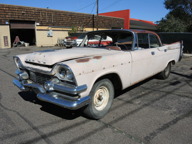 1958 dodge coronet 4 door hardtop project d500 custom for 1955 dodge coronet 4 door