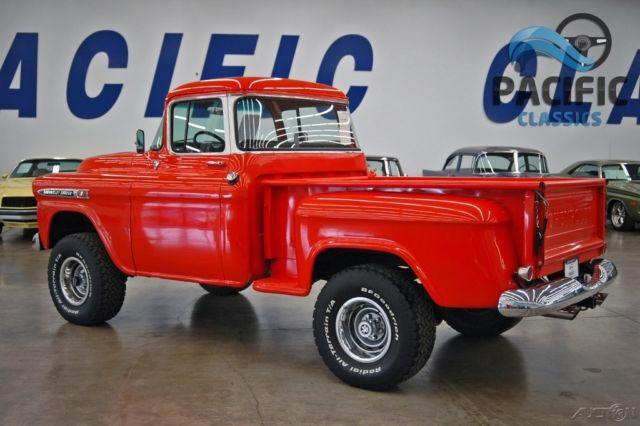 1959 chevrolet apache 4x4   327 v8   turbo 350