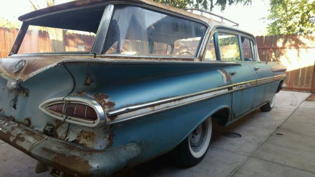 1959 Chevy Nomad Impala Wagon