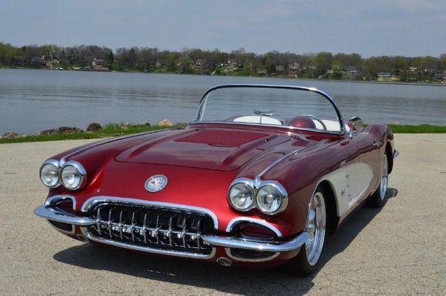 1960 Chevy Corvette Resto Mod Convertible Custom