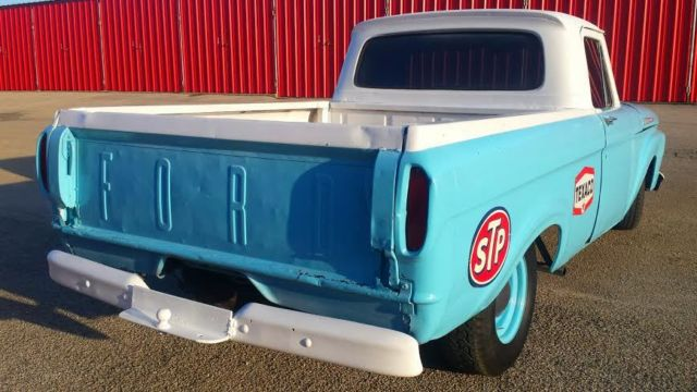 Ford F Short Bed Unibody Custom Rat Rod Pickup Truck on 1963 ford unibody custom cab