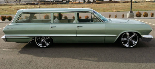 1963 Chevrolet Bel Air Base Wagon 4