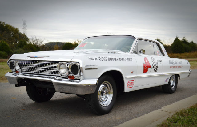 Used Cars Bowling Green Ky >> 1963 Chevrolet Impala SS Nostalgia Drag Racer
