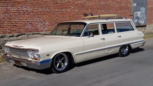 1963 Chevy Bel Air 9 Passenger Wagon