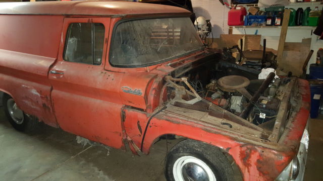 1963 Chevy C10 Panel Truck