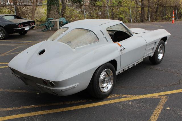 1963 corvette split window coupe project for 1963 corvette split window model car
