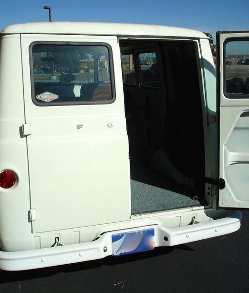 2008 Ford E150 Cargo Transmission: 1963 Econoline Ford Cargo Van