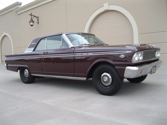 1963 FORD FAIRLANE 500 SPORT COUPE K CODE HI PERFORMANCE