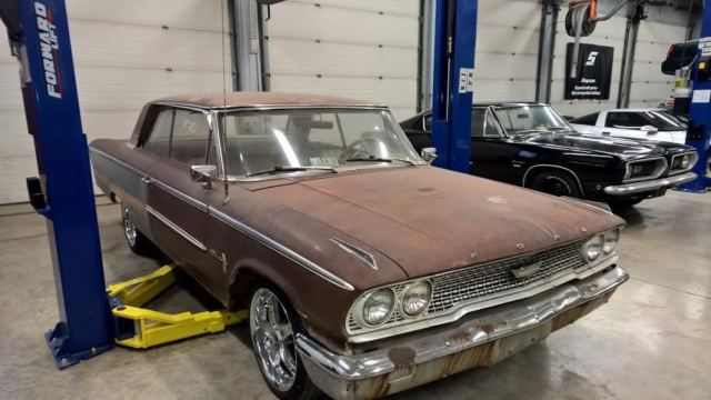 1963 ford galaxie 500 original 390 engine car with 4 speed manual transmission 1 1963 ford galaxie 500, original 390 engine car with 4 speed manual wiring diagram for 1964 ford galaxie 500 at gsmx.co