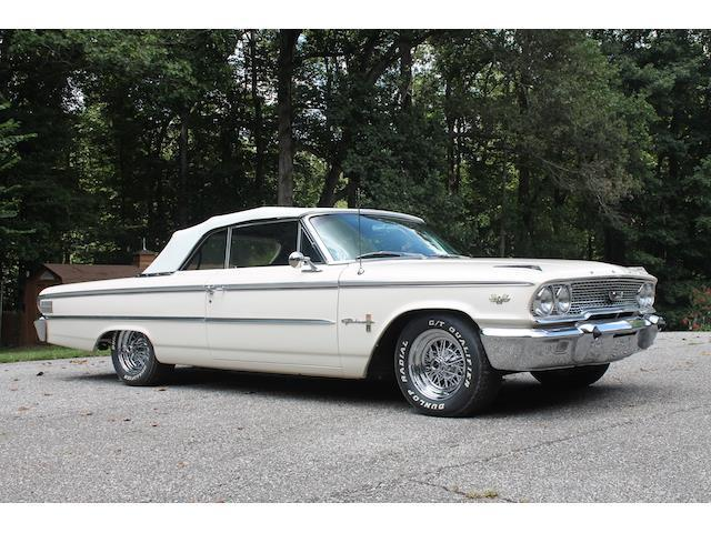 1963 ford galaxie 92 091 miles white 2 door 427 cu in v8. Black Bedroom Furniture Sets. Home Design Ideas