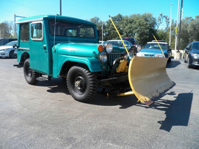 1963 Jeep Willys W Plow