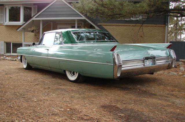 1964 cadillac coupe deville ls a c overdrive. Black Bedroom Furniture Sets. Home Design Ideas