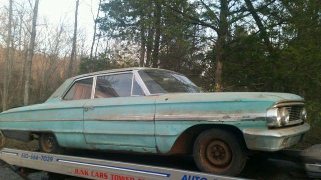 Ford Galaxie Barn Find Original Rare Dodge Amc Chevrolet - Dodge buick