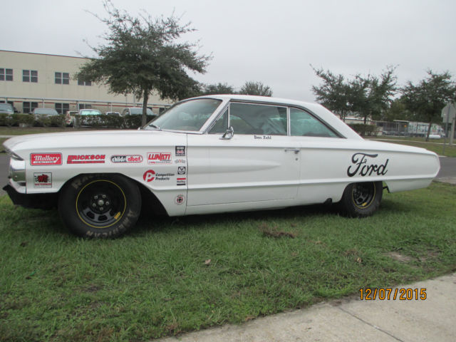 1964 ford galaxie 500 xl vintage stock car look nascar hot rod race car galaxy. Black Bedroom Furniture Sets. Home Design Ideas