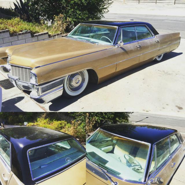 1965 Bagged Cadillac Sedan DeVille Rat Rod