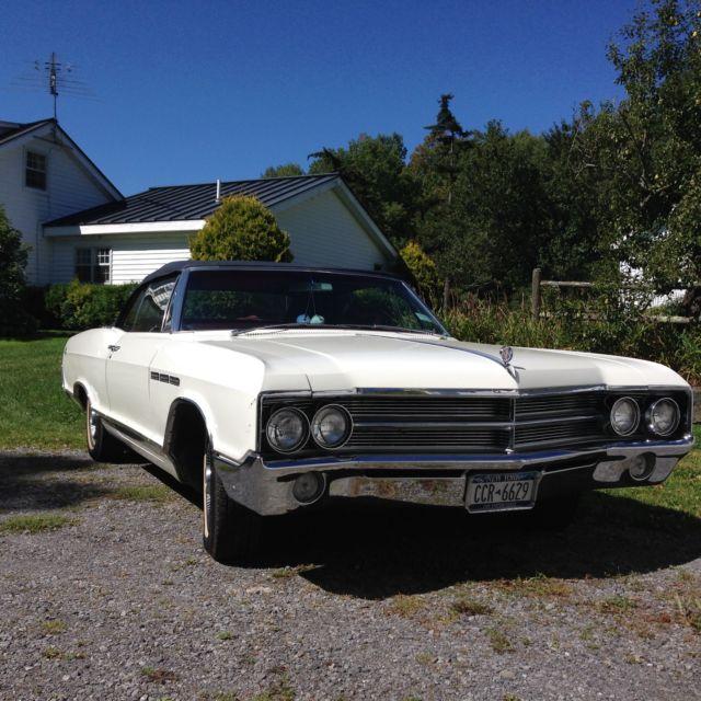 Buick Wildcat V8 Engine: 1965 Buick LeSabre Custom 4.9L