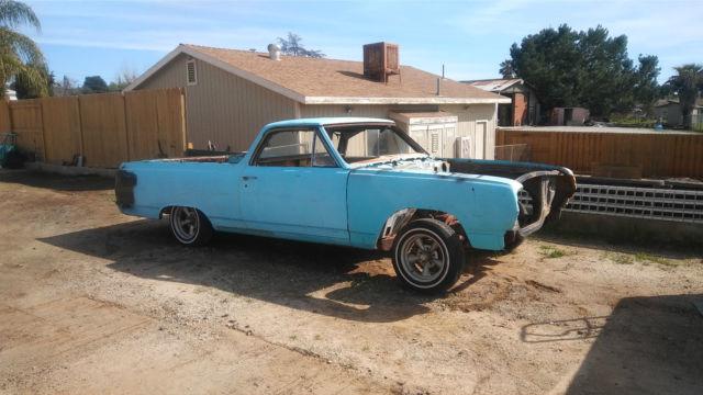1965 Chevrolet El Camino Project - LOTS of EXTRAS