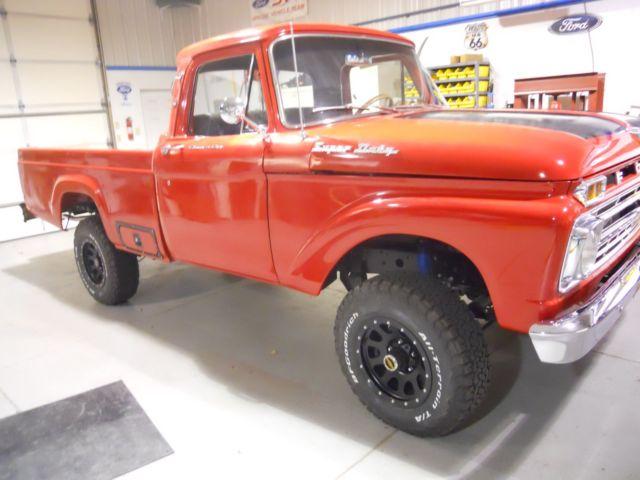 1965 Ford F100 Super Duty Custom Cab 4x4