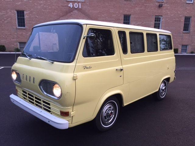 1965 ford falcon econoline camper van