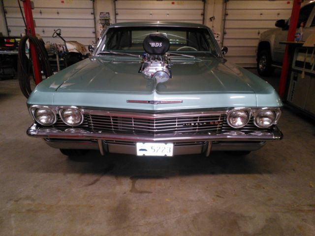1965 Impala Ss 2 Door Hard Top Coupe Pro Street Big Block