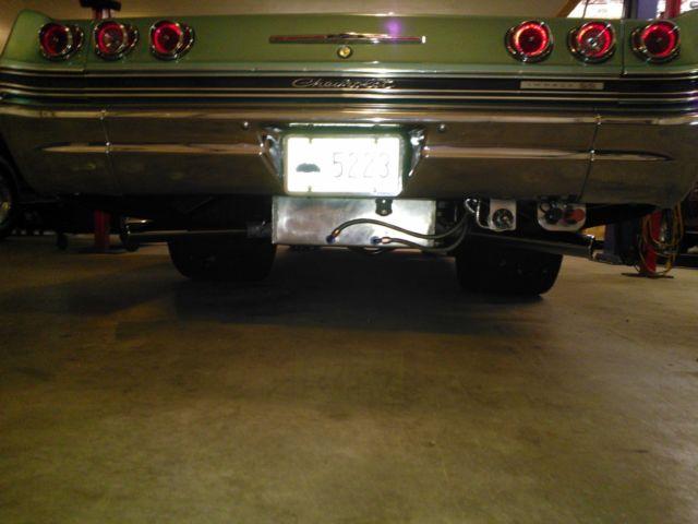 1965 Impala Ss 2 Door Hard Top Coupe Pro Street Big Block