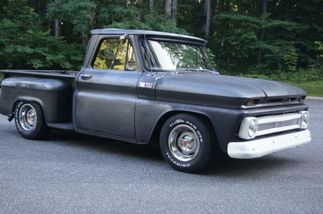 1965 Shortbed Pickup Truck Hot Rat Rod Shop Slammed Chevy