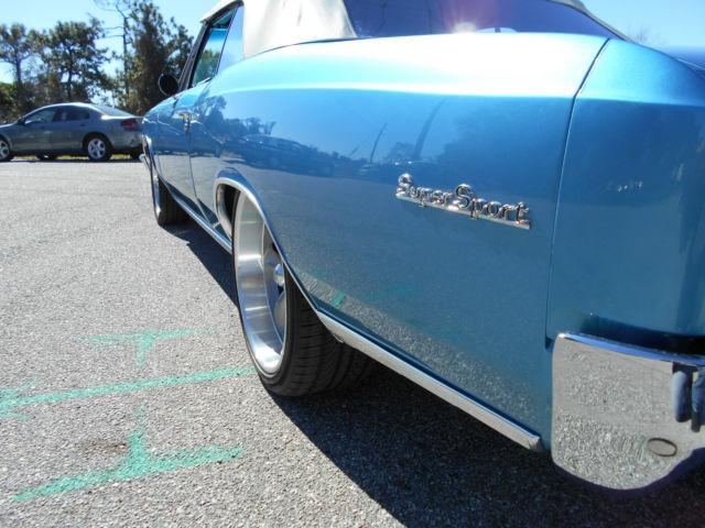 1966 Chevelle Ss 396 Convertible True 138 Ss 4 Spd Marina