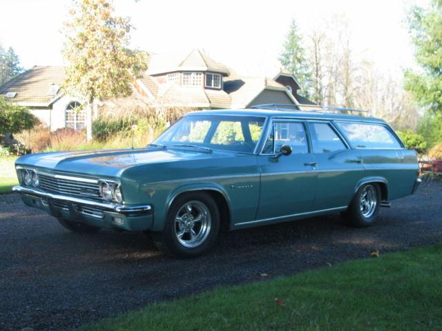 1966 Chevrolet Impala 9 Pass Station Wagon
