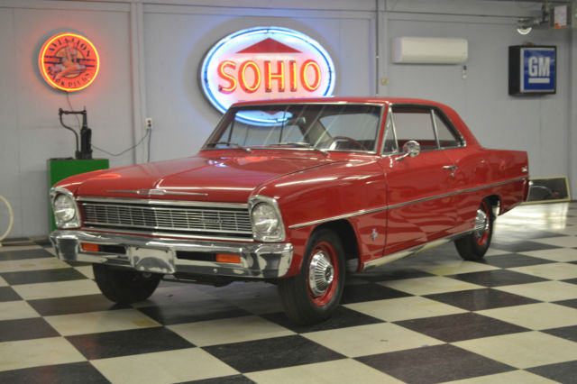 1966 Chevy Ii L79 4 Speed All Numbers Match 1 958
