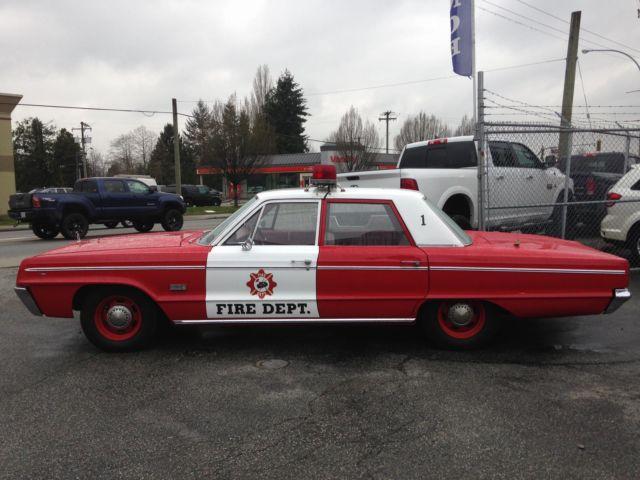 1966 dodge polara fire chief collectors parade car promotions etc. Black Bedroom Furniture Sets. Home Design Ideas